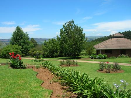 accommodation to match prized gardens