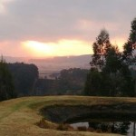 Arum Hill Lodge sunrise