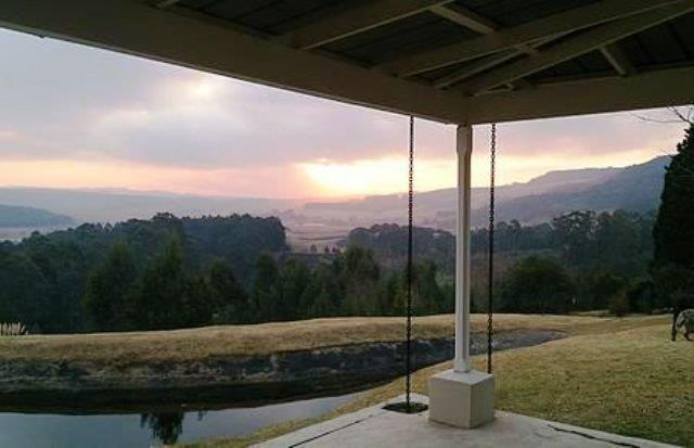 Arum Hill Lodge verandah View