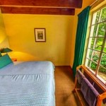 Kingfisher Cottage Double Bedroom at Bellwood Cottages