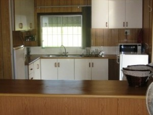 Thistledown Country Cottage kitchen