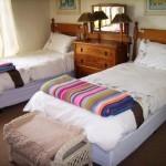 Waterwood Hillside Second Single bed en-suite bedroom