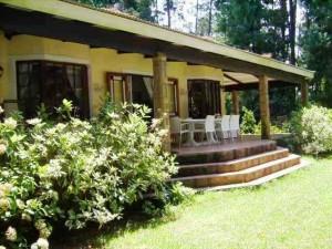 Waterwood Pinetree Cottage verandah