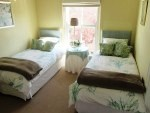 56 Gowrie Second bedroom single beds