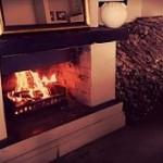 Arum Hill B&B Roaring Fire