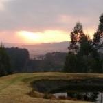 Arum Hill Lodge sunrise